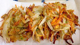 簡単な揚げないのかき揚げ by 栄養士の寧々 [クックパッド] 簡単おいしいみんなのレシピが259万品