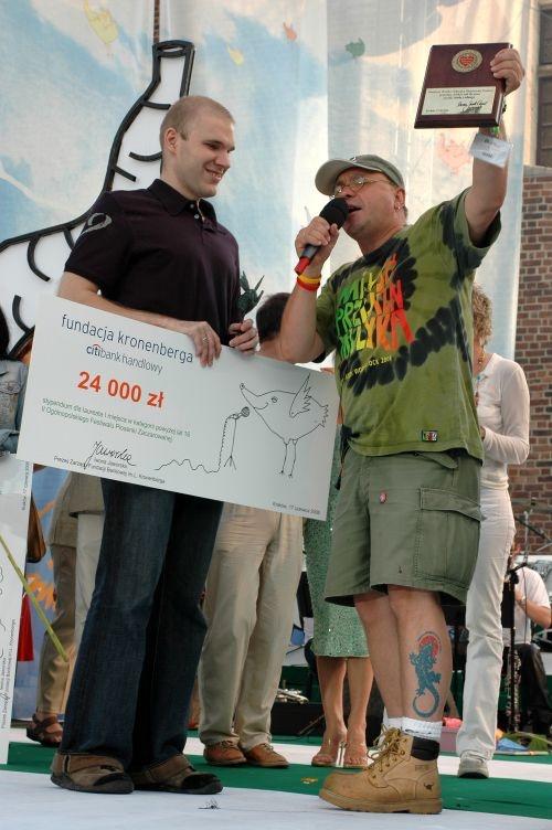 Festiwal Zaczarowanej Piosenki 2006 #zaczarowana Specjalna nagroda od WOŚP