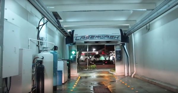 Hackers can get into automatic car washes way too easily.