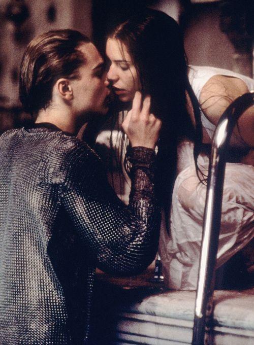 Claire Danes and Leonardo DiCaprio in William Shakespeare's Romeo + Juliet (1996)