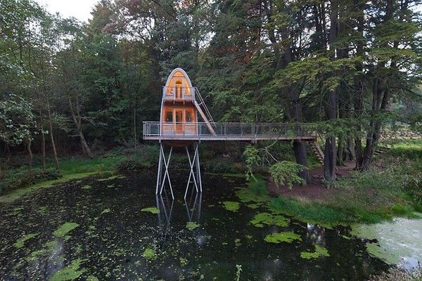 Baumraum   Baumhaus Solling   Unusual Dwellings   Pinterest   Haus ... Das Magische Baumhaus Von Baumraum