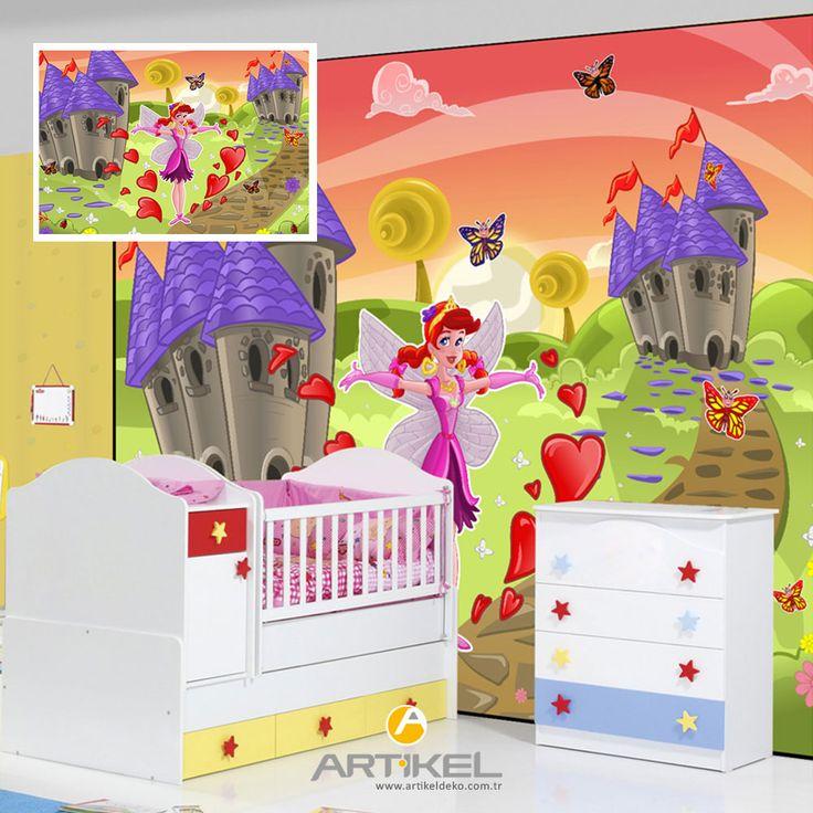 Çocuk odanızda dev boyutlarda posterlerle fark yaratabilirsiniz. #çocukodası #sticker #dekorasyon #dekorasyonfikirleri