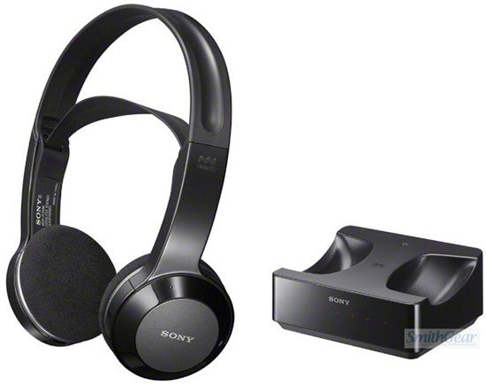 sony tv wireless headphones. sony mdr-if245rk wireless infrared headphones - cordless rechargeable lightweight $89.95 tv