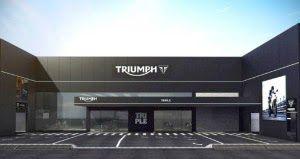 R2 MOTOS: Triumph abre em Campinas a maior revenda da marca ...
