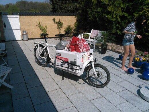 Bullitt milk plus cargo bike