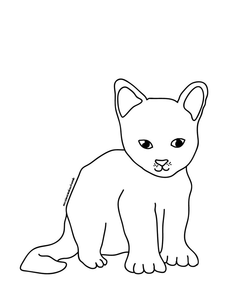 Gratis Malvorlagen Katzen Malvorlage Katze Malvorlagen Katzen