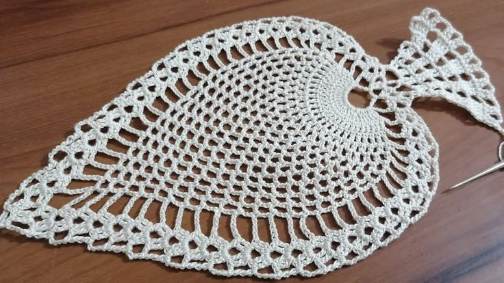 Tığişi örgü sehpa örtüsü modeli yapımı Part 1 & Crochet doily