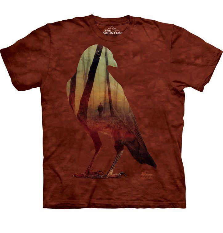 Varjú és az erdő póló