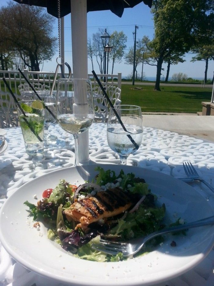 Where else would you rather be than dining along one of our many lakeshores?
