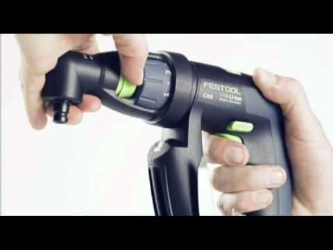 #Vidéo #Festool CXS Compact Cordless Drill  http://www.debonix.fr/recherche/zdbx_default_marque/Festool