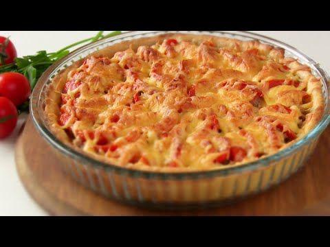 Простой открытый мясной пирог с картофельным тестом - lublugotovit.me