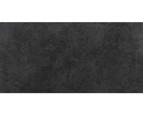 Feinsteinzeug Bodenfliese Vega Anthrazit 30x60 cm