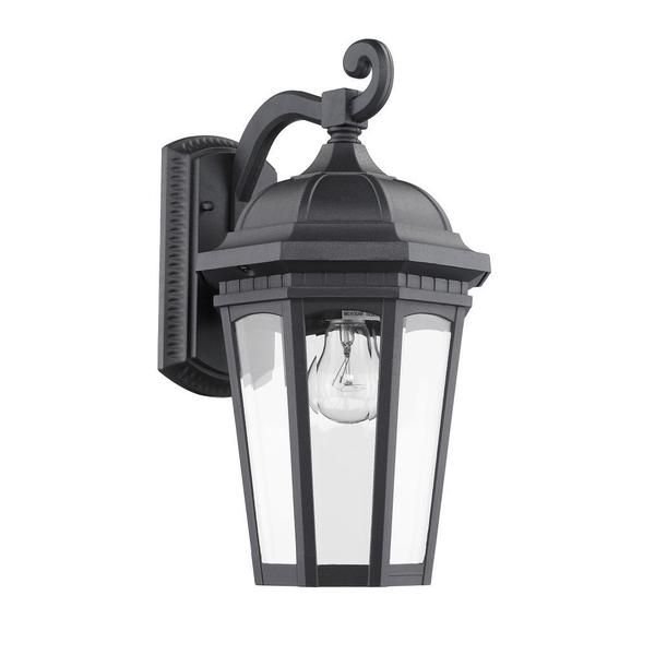Transitonal UL-approved 1-light Black Outdoor Wall Light Fixture - Overstock™ Shopping - Big Discounts on Wall Lighting