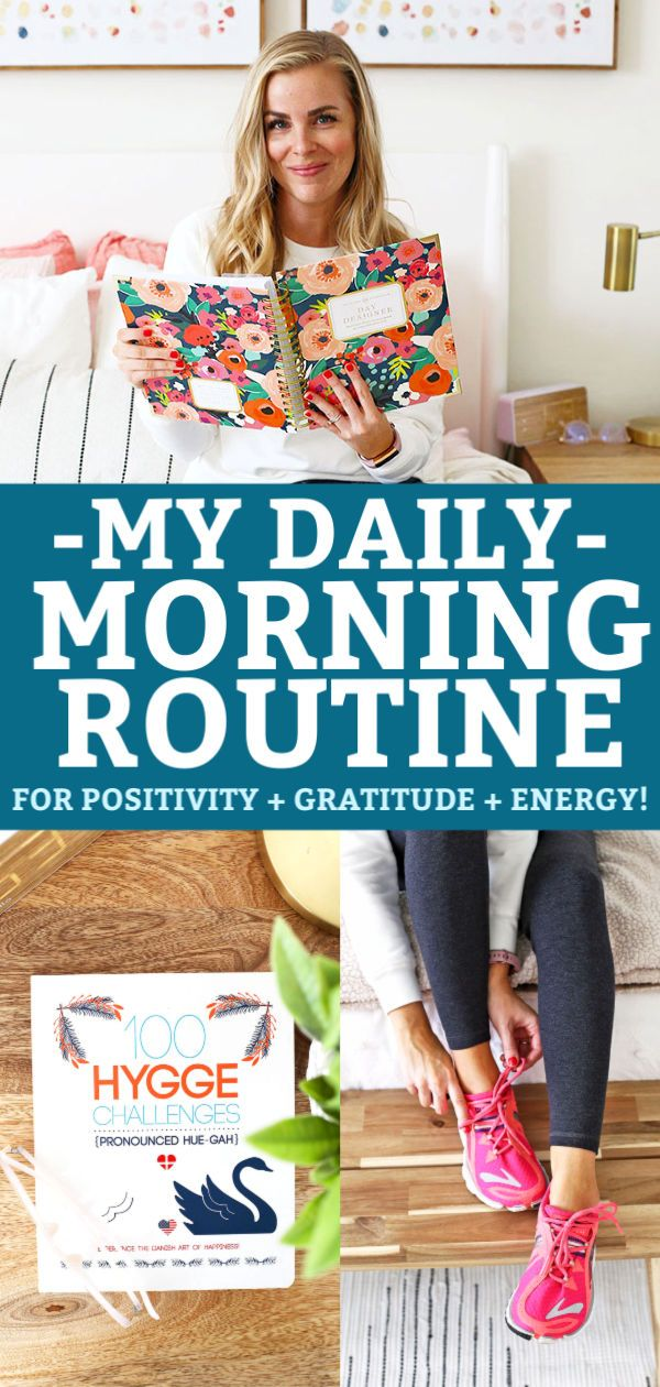 My Morning Routine for Positivity + Gratitude + Lots of Energy!