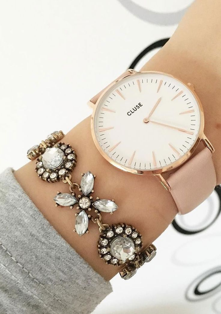 Jasmine Blossom Statement Bracelet #watches #bracelet #style #statementbracelet - 16,90 € @happinessboutique.com