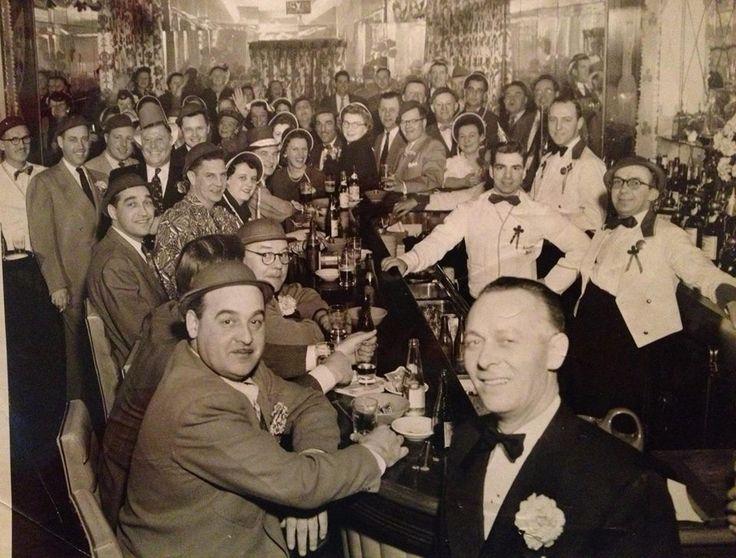 Alexandria Hotel on St Patrick's day. 1949-50