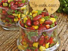 Meksika Fasulyesi Salatası Resimli Tarifi - Yemek Tarifleri