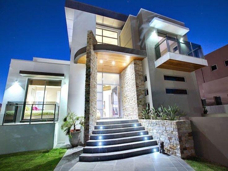 Fachadas Casas Bonitas Una Planta Fachadas de Casas Bonitas de #modelosdecasasdedospisos #modelosdecasasbonitas
