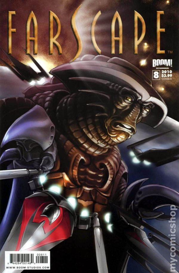 Farscape (2009 Boom Studios Ongoing) 8B Comic book covers