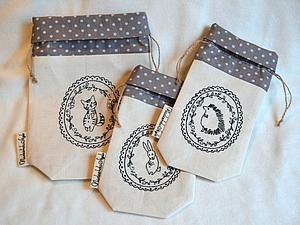 Мастер-класс: Шьем текстильные мешочки для трав   Ярмарка Мастеров - ручная работа, handmade