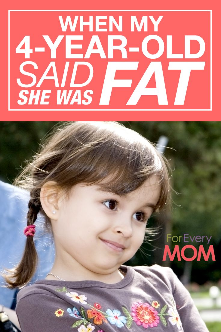 When I Made My 4 Year Old Think She Was Fat