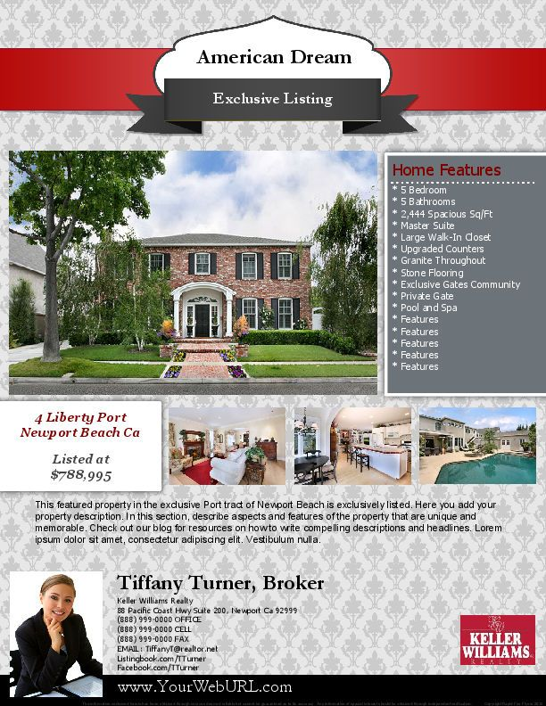 37 best Real Estate Marketing Flyer Templates images on Pinterest - Seminar Flyer