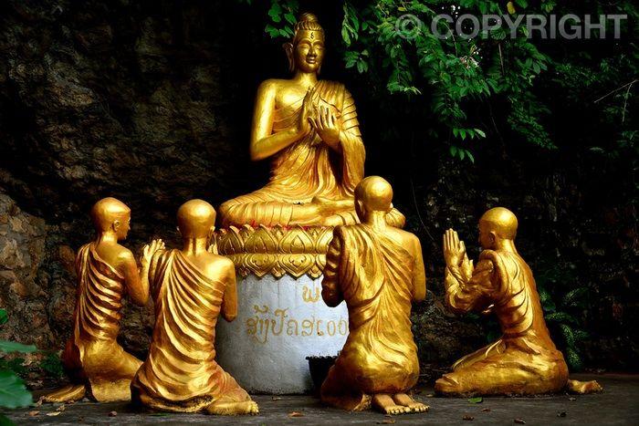 Worship - Mount Phou Si, Luang Prabang