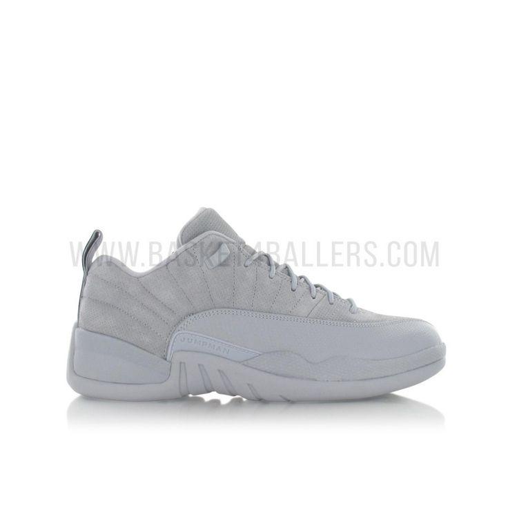 Air Jordan 12 Retro Low enfant (gs) wolf grey - Basket4Ballers