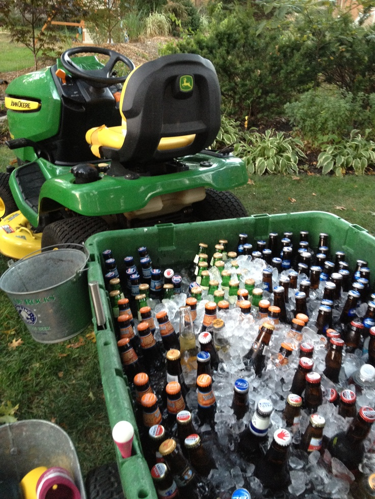 Great idea for a BBQ party!