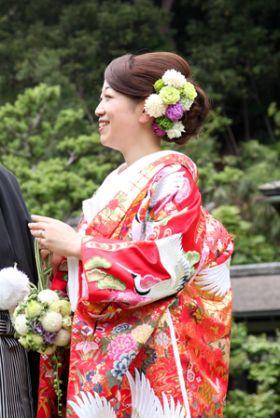 ヘッドドレス 花 和装 - Yahoo!検索(画像)