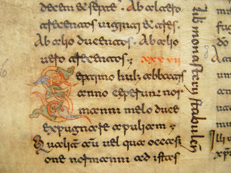 The Hague, KB : ms. 73 B 24, f. 13; Montecassino, c. 1100 - Beneventan Script