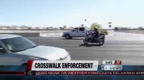 "North Las Vegas Police conducting ""Pedestrians Can Walk Safely"" event - www.ktnv.com: Las Vegas, Crosswalk Rules, Police Conduct, Conduct Pedestrian, Observational Crosswalk, Vegas Police, Traffic Ticket, The North, Walks Safe"