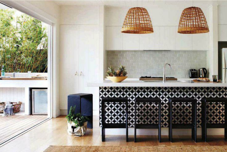 Contempory style kitchen from House and Garden Australia