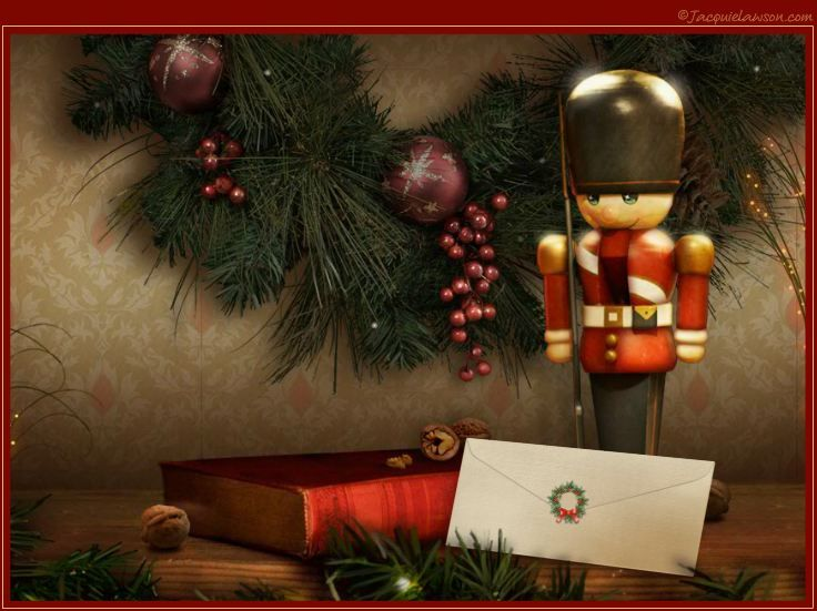 the nutcracker photo card your christmas news accompanied by tchaikovsky - Jacquie Lawson Halloween Cards