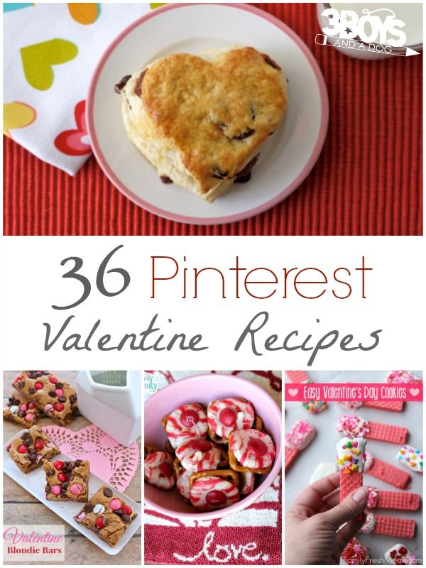 Make this Valentine Day's extra special with these yummy Pinterest Valentine recipes!