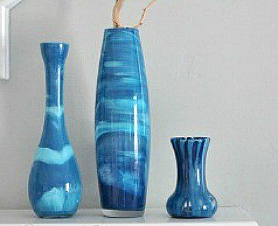 41 Ways To Reuse Old Vases Craft Ideas Painted Glass Vases Craft