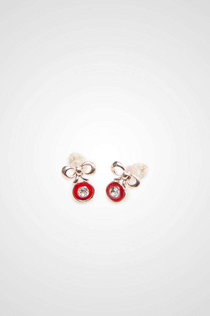 Cherry Gem Earrings
