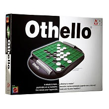 Othello Game - I used to rock at this!  Simple, trap and flip.  Have the most pieces on the board.