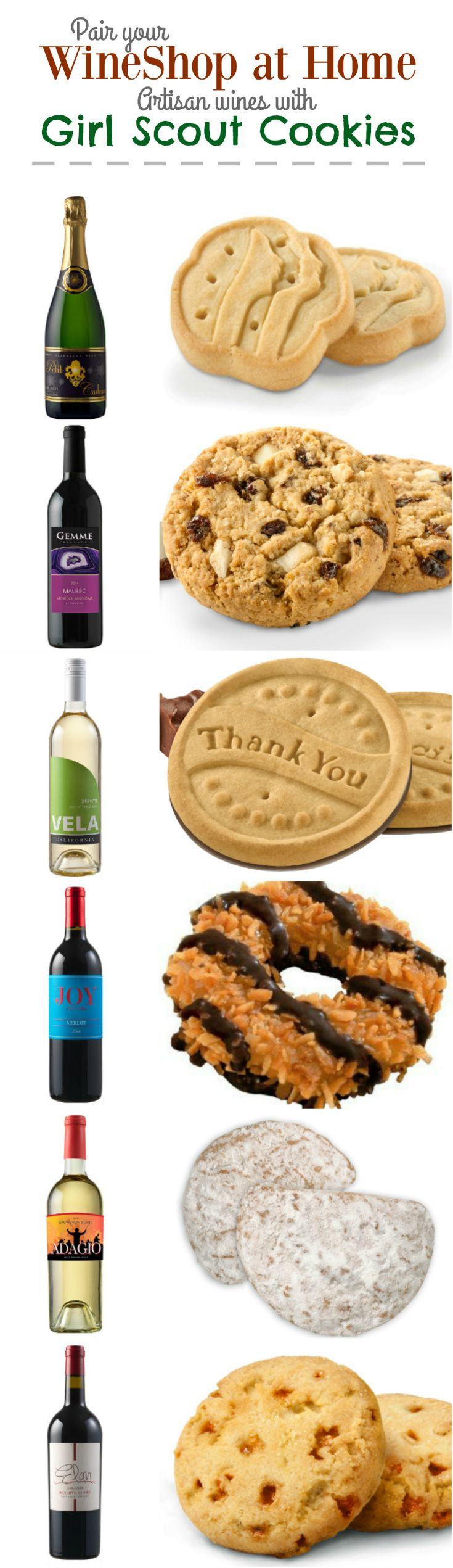 Girl Scout Cookies and WINE? YES, PLEASE! - Caffeine and Cabernet