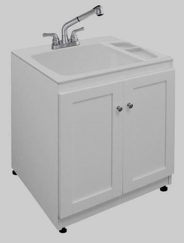 tuscany laundry tub cabinet kit at menards kitcabinets kitchen rh pinterest com