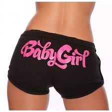 #BabyGirl Hot Shorts - Pink