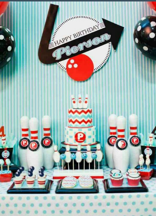 33 best images about Bowling Theme Party on Pinterest  ~ 090748_Birthday Party Ideas Nj