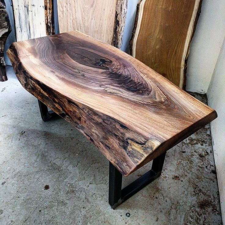 Best Finish For Live Edge Coffee Table: 17 Best Ideas About Black Walnut Lumber On Pinterest