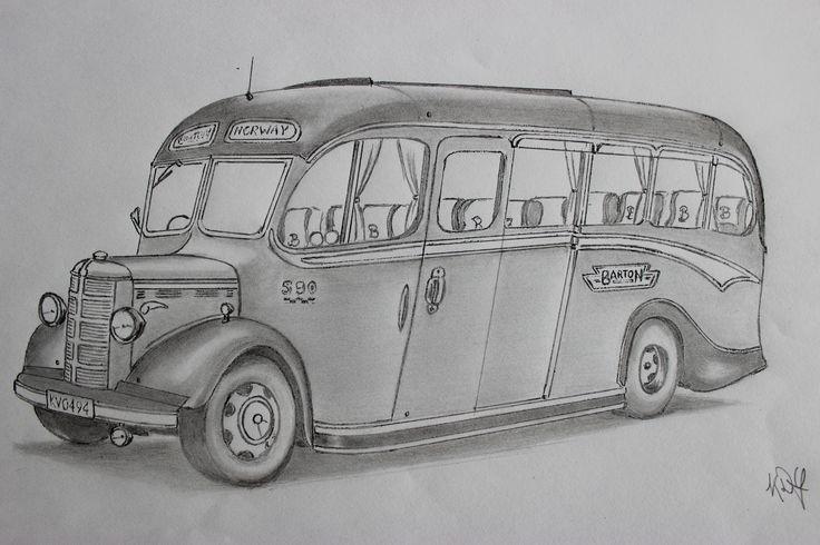 Barton Transport 590 - 1950 Duple bodied Bedford OB