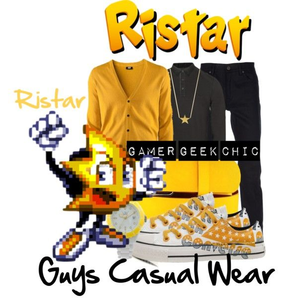 """""""Ristar - Ristar"""" by gamer-geek-chic on Polyvore"""