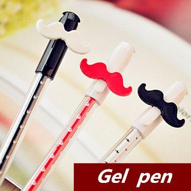10 pcs/Lot Cute bear pens Gel pen Kawaii Stationery  Patins Caneta Novelty gift zakka Office accessory school supplies 6210-in Gel Pens from...