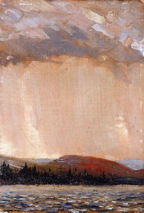 Canoe Lake, Tom Thomson 1913 National Gallery of Canada - Ottawa...