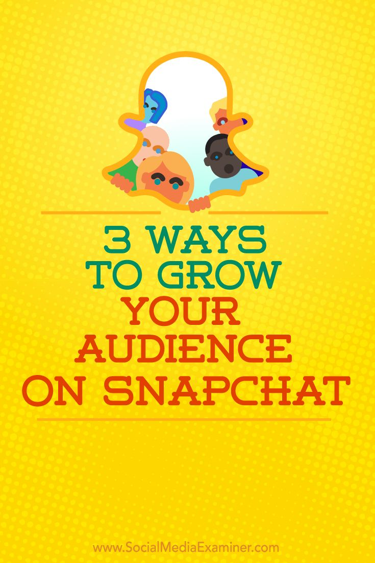 Do you want more followers on Snapchat?  Using the right tools to their fullest potential will grow your following and increase the chances that others will discover your Snapchat profile.  In this article, you'll discover three ways to grow your audience on Snapchat. Via @smexaminer.