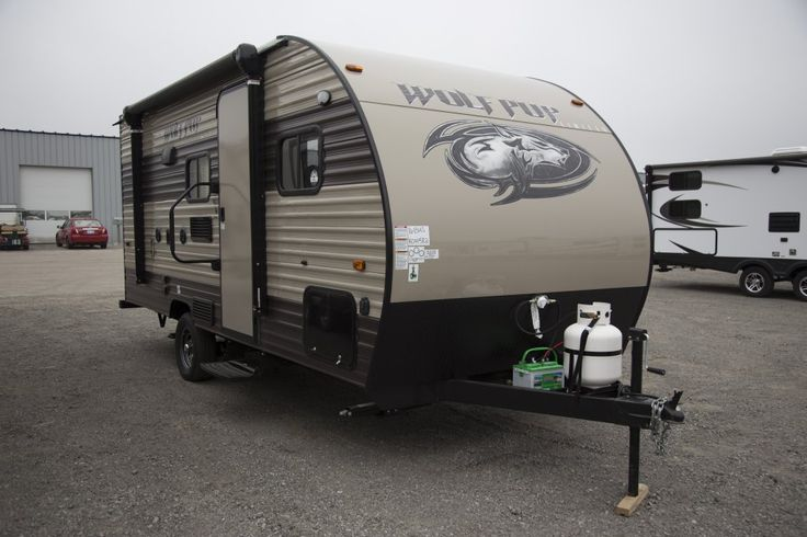 "COMPACT FAMILY ADVENTURE MOBILE!!!   2017 Forest River Wolf Pup 16BHS  You don't have to have a giant RV to get out there with your family! The 16BHS is lightweight and compact, yet offers plenty of features your family will love! At only 3,097 lbs dry, this 21' 5"" RV glides down the road behind you! Show the kids what lies beyond the suburbs with this amazing rig!  Give our Wolf Pup expert Tom Bourdon a call 231-903-6220 for pricing and more information."