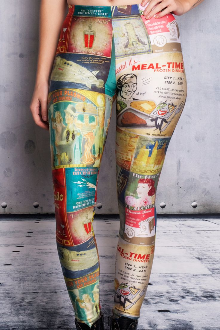 Rapture Advertisements Leggings - $75.00 AUD